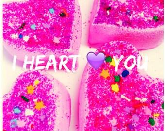 I Heart You-bath bomb