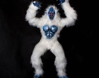 The Yeti - ooak handmade fantasy sasquatch sculpture