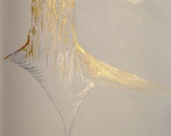 Illumined Elven Castle ~ Original illustration