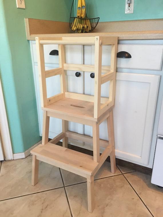 Like this item? & Montessori Kitchen Helper stool / toddler tower / wood step islam-shia.org
