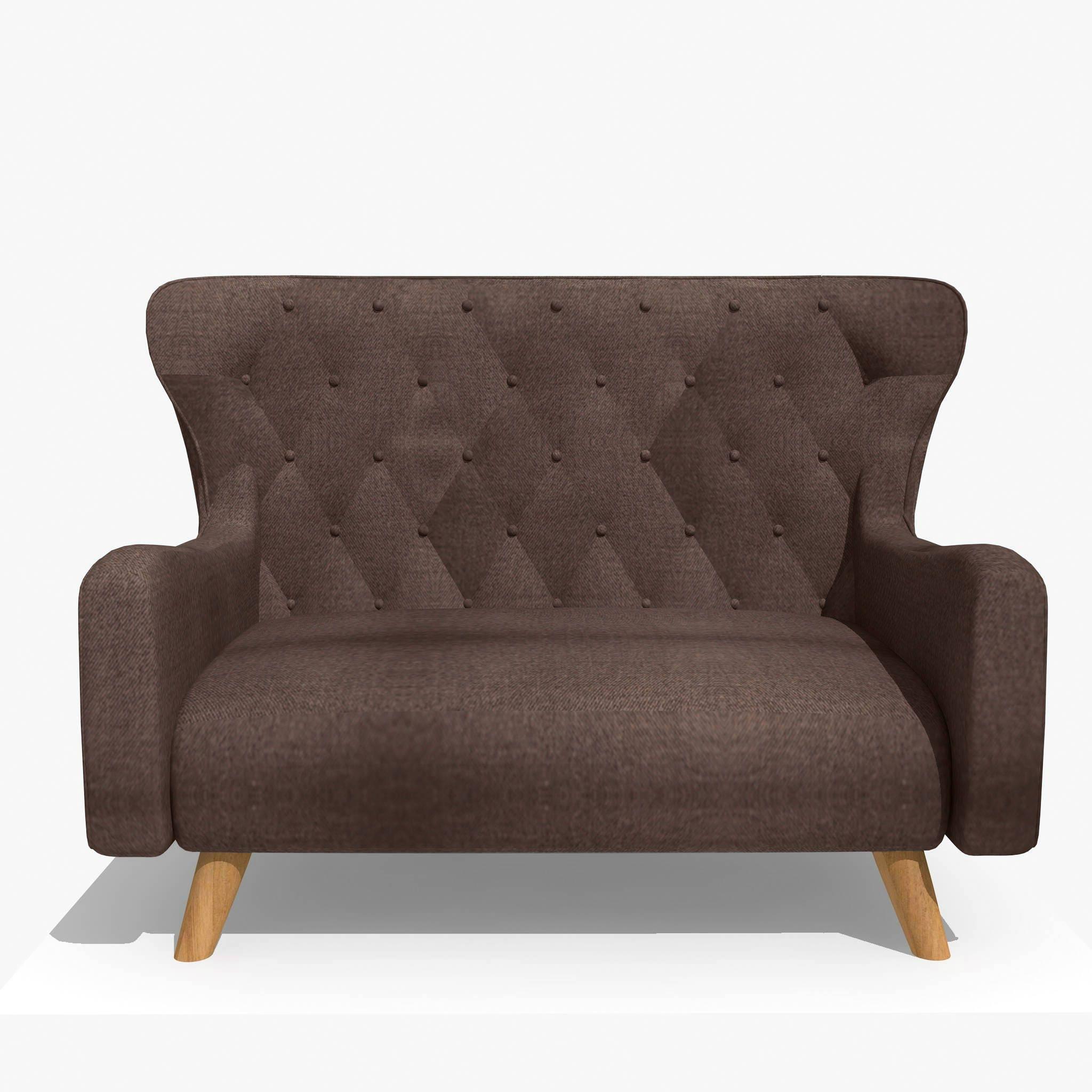 SALE 10% Prince 2 seat sofa Solid wood frame