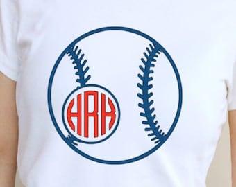 Baseball decal,baseball monogram,monogrammed,Iron on,Decal, decal,car,yeti,shirt, baseball iron on,initials, baseball, mom, number