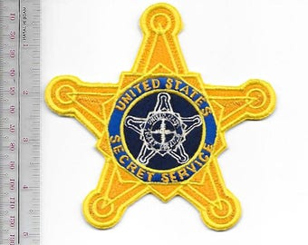 US Secret Service USSS Firearms Instructor Agent Service Star Patch