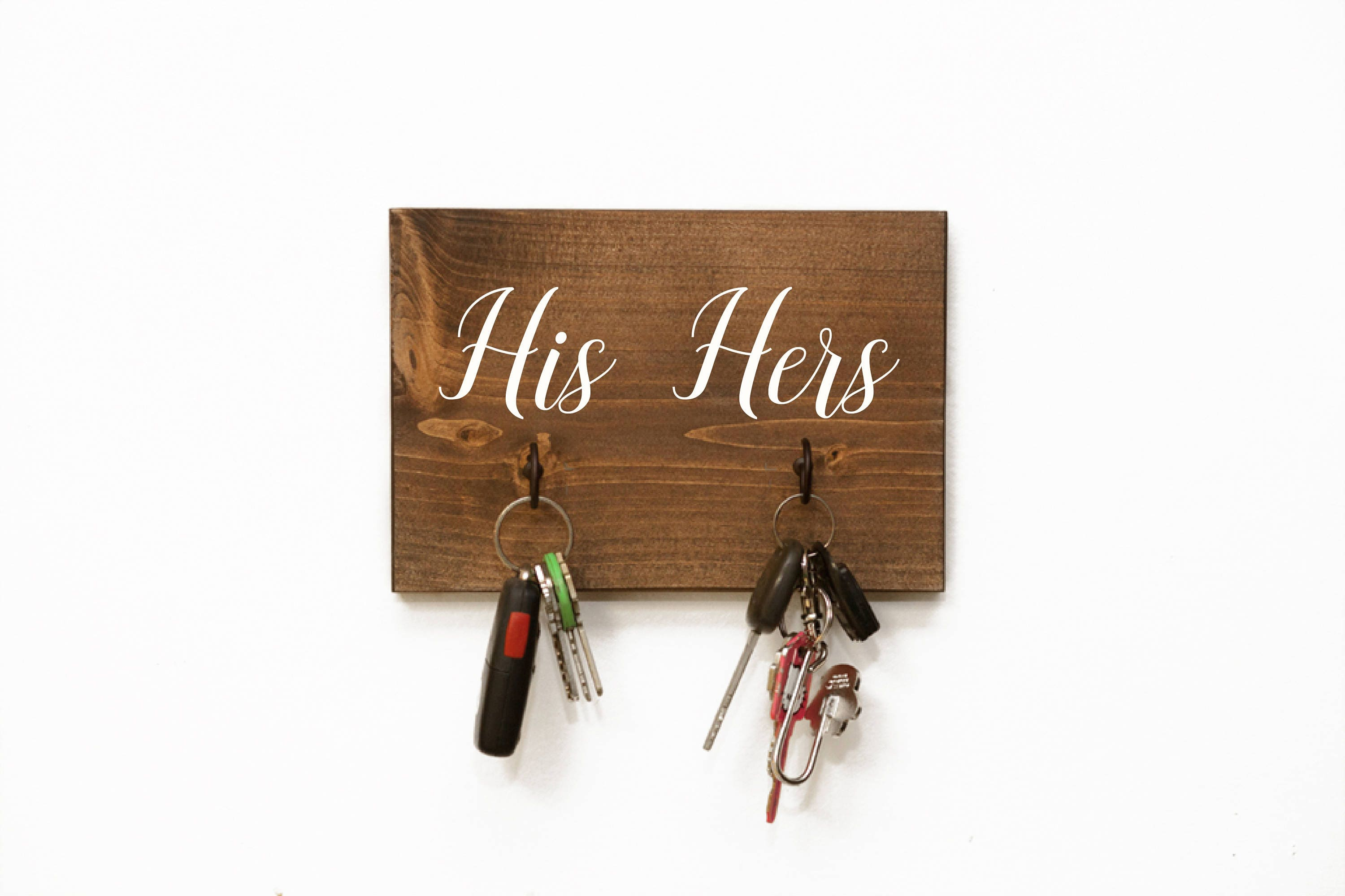 Key holder key hanger key hooks his and her decor custom key for Mural key holder