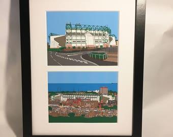 Easter road stadium, Edinburgh, Hibernian Football Club