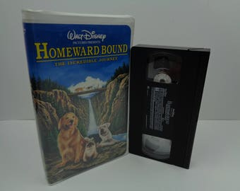 Disney Homeward Bound VHS