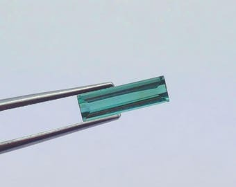 WOW 0.80 Carat Green Color Loose tourmaline gemstone from@ Afghanistan 12.5*5*4mm (18)