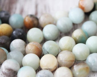 10mm Rainbow Amazonite, Amazonite Beads, Rainbow Beads, Rainbow Amazonite, 10mm Beads, 10mm Gemstone Beads, Rainbow Amazonite,