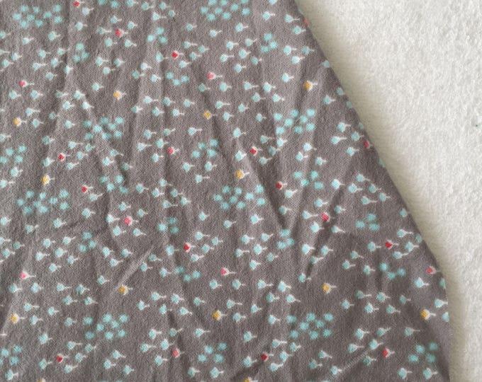 three pack cotton flannel grey bulb burp cloths