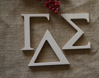dorm room decor unfinished greek letters greek letters cut out wooden greek letters