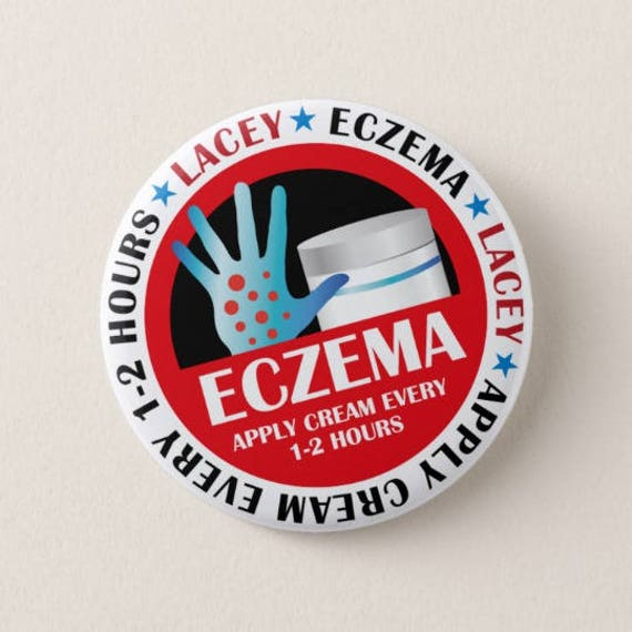 Personalised Medical Badges. Eczema. Psoriasis. Anaesthetic. Autistic. Hard of Hearing - any medical condition