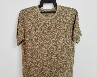 K Haring Fullprint Tshirt Size Large