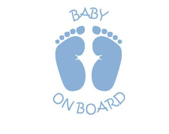 Baby On Board Decal - Baby Car Decal - Baby On Board Car Decal - Car Decal - Car Window Decal