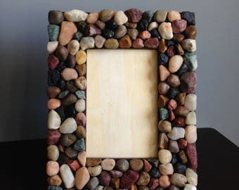 Rock 4x6 Picture Frame