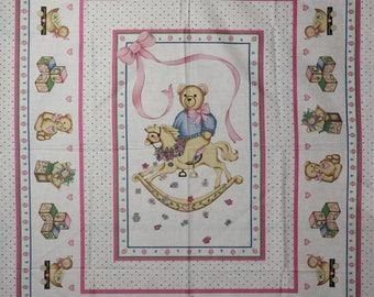 Baby fabric panel.