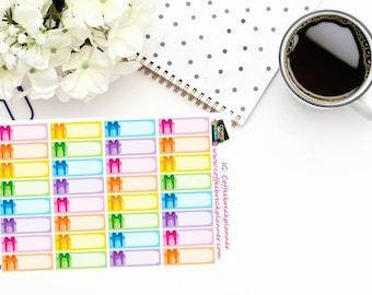 Planner Stickers Birthday Reminder Stickers Birthday Box Stickers Birthday Stickers Birthday Tracking Stickers D006