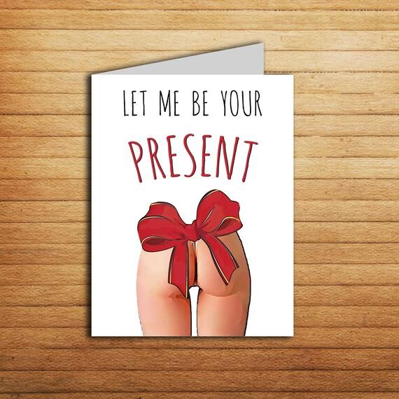 Boyfriend Birthday Card Naughty Birthday Card For Boyfriend: Sexy Birthday Card For Boyfriend Birthday Gift Printable Funny