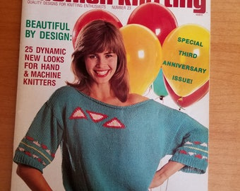 Fashion Knitting No. 23 Knitting Magazine