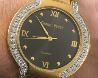 Lovely Gianni Vecci of Italy gents watch