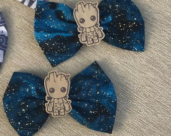 Baby Groot Hair bow