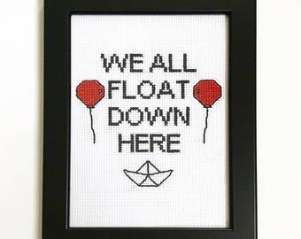 We all float stitch