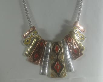 P- 40 Vintage Necklace and earrings