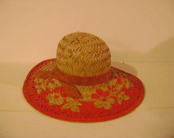 Vintage Salesman Sample Straw Hat