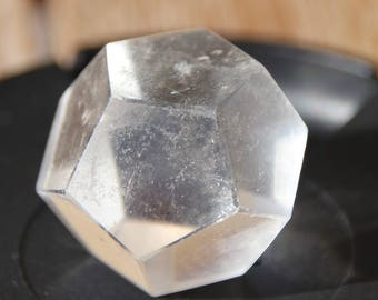 dodecahedron rock crystal