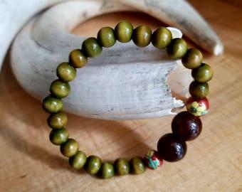 Wood and Ceramic Beads