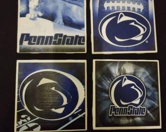 Penn State coasters set of 4