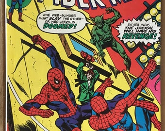 Vintage Amazing Spider-Man - Marvel Comic Book - Issue 149 - The Jackal - Bronze Age (1975)