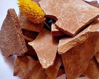 Red  clay, edible clay, Clay Chunks, Organic clay, 100% pure natural