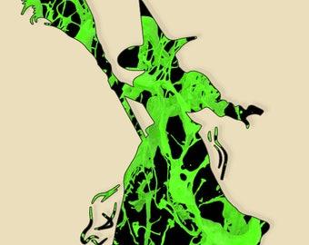 Wizard of Oz Witch Digital Download Print