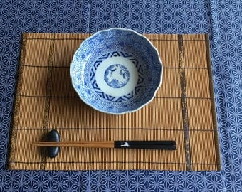 A Pair of Handmade Bamboo Placemats