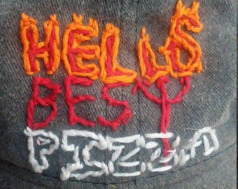 Hell's Best Pizza hat