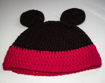 Hat pattern baby girl, size newborn to 6 months