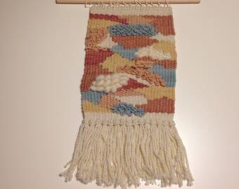 Weaving - Pinks, Yellows, Blues