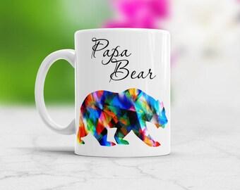 Papa Bear Mug Papa bear coffee mug Mug for Papa bear Dad Gift New Dad Gift Papa Bear Gift Dad Coffee Mug Papa Bear Color Changing Mug