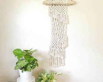 Modern Macrame, Woven Wall Hanging, Macrame Wall Hanging, Bohemian Home Decor, Jungalow Style, Macrame Wall Art, Home Decor Wall Art