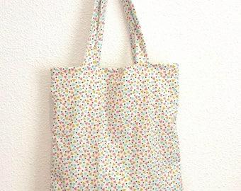 Scandinavian Tote Bag, a crazy triangles!