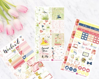 Robyn Personal Planner Weekly Kit All Planner Types Kate Spade, Erin Condren, Sewmuchcrafting, Traverler's notebook & Happy Planner