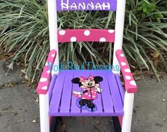 Custom Childrens rocking chairs