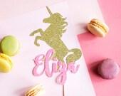 Unicorn Cake Topper, Unicorn Party, Custom Unicorn Cake, Unicorn Birthday, Pink Gold Cake, Unicorn Party Decor, Unicorn Cake, Cake Smash
