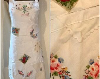 Table linen apron.