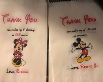 Mickey and Minnie - 25 bags