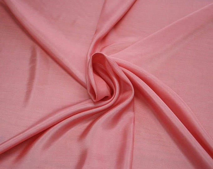 402112-taffeta natural silk 100%, width 110 cm, made in India, can be used liner, dry wash, weight 58 gr