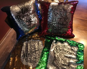 Harry Potter Themed Mermaid Pillow Cover