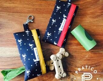 Ready to ship/case poopbag/poop bag dispenser / dog / dogs/flamingo/Flemish/pineapple/pineaple