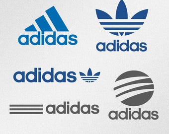 Adidas Logo Svg, Dxf, Eps Vector Files for Silhouette, Cricut, Cutting Plotter