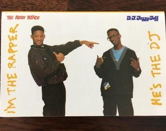 D.J. Jazzy Jeff & The Fresh Prince He's The DJ, I'm The Rapper Cassette Tape